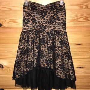 B•wear brand strapless dress size 9 new with tags